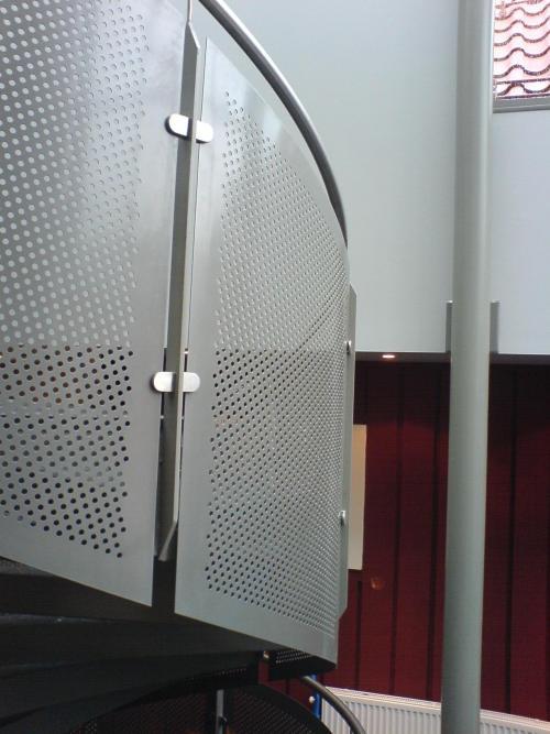 kongsberg tynnplate rekkverk
